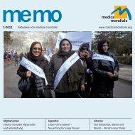 memo 1-2011 - medica mondiale eV