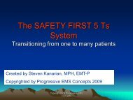 The SAFETY FIRST 5 Ts System - MaineHealth