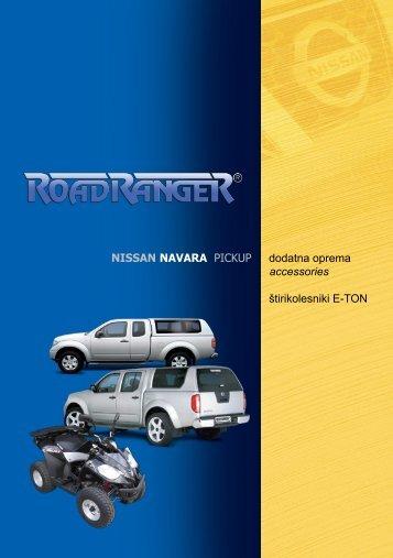 NISSAN NAVARA PICKUP dodatna oprema ... - Road Ranger
