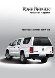 Nadgradnje in oprema Volkswagen Amarok 4x4 in 4x2 - Road Ranger