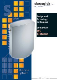 Close-coupled double- volume cistern topstar duo Start/Stop cistern ...