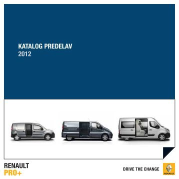 RNS Katalog PREDELAV - Renault - Renault.si
