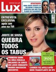ENTREVISTA EXCLUSIVA após um ano na TVI - Lux - Iol