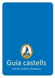 Guia castells - Colla de Castellers d'Esplugues