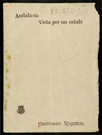 Andalusia vista per un català