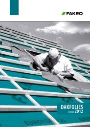 Dakfolies - Fakro