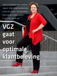 Artikel 'VGZ gaat voor optimale klantbeleving' - Berenschot