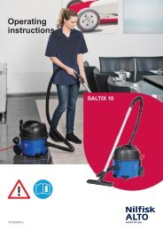 SALTIX 10 - 107402849 E.indb - Nilfisk PARTS - Nilfisk-Advance