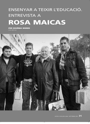 ROSA MAICAS