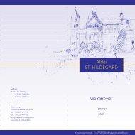 09-0000>weinpreisliste FJ 2009 - Abtei St. Hildegard
