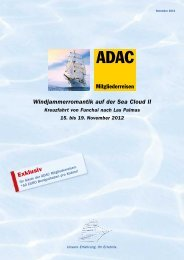 Windjammerromantik auf der Sea Cloud II - ADAC Reisen
