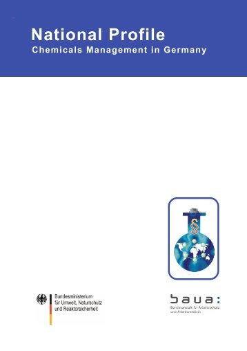 National Profile - Chemicals Management in Germany