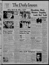 Daily Iowan (Iowa City, Iowa), 1955-12-03 - University of Iowa