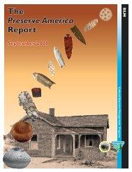 2008 Progress Report - Advisory Council on Historic Preservation