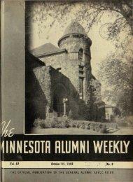 Vol. 42 October ;31, 1942 - University Digital Conservancy ...