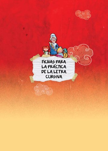 FICHAS PARA LA PRaCTICA DE LA LETRA CURSIVA