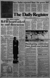 R-FH board asked to end dissension - Red Bank Register Archive