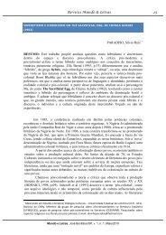 sincretismo e hibridismo em the sacrificial egg, de chinua achebe