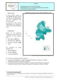 Chiffres clés - Communauté de communes du Pays d'Iroise