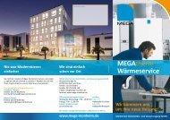 MEGAtherm Wärmeservice - MEGA Monheimer Elektrizitäts