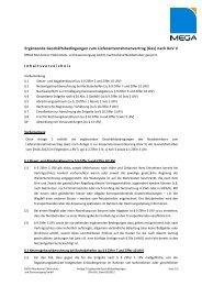 Anlage 2 Ergänzende Geschäftsbedingungen - MEGA Monheimer ...