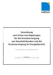 Grundversorgungsverordnung Strom und Gas - MEGA Monheimer ...