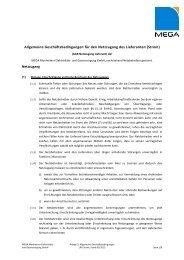 AGB für den Netzzugang Strom - MEGA Monheimer Elektrizitäts