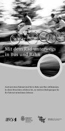 Mit dem Rad unterwegs in Bus und Bahn - ADFC Schleswig-Holstein
