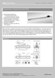 Datenblatt Serie PMS - Megatron Elektronik AG & Co ...