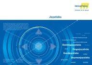 Joysticks - Megatron Elektronik AG & Co. Industrietechnik KG