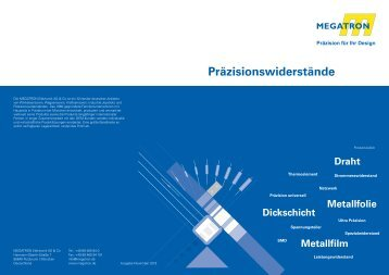 Widerstände Flyer - Megatron
