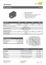Datenblatt Serie MSI - Megatron Elektronik AG & Co ...
