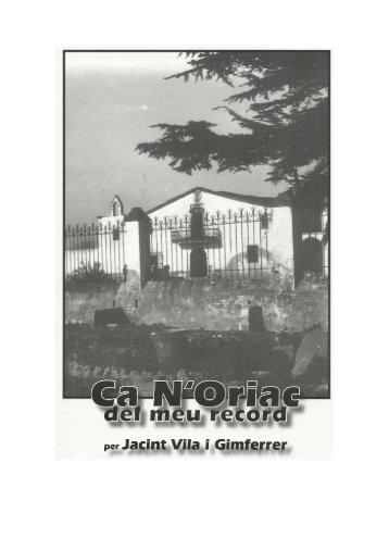 Page 1 2 JACINT VILA GIMFERRER A Mobe DE PRLEG El