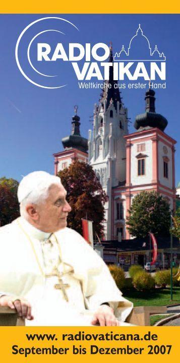 Die Biografie zum 25. Dienstjubiläum - Radio Vatikan
