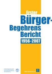 Bürgerbegehrens-Bericht 2007 - Mehr Demokratie eV