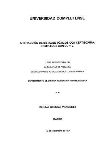 Oo - Universidad Complutense de Madrid