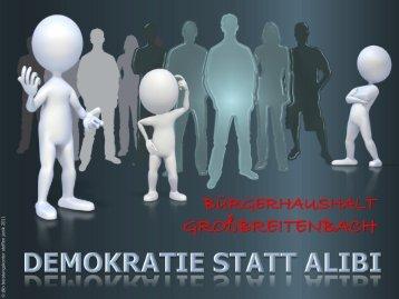 Vortrag von Steffen Janik - Mehr Demokratie eV
