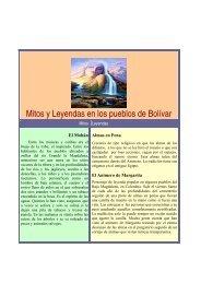 Mitos y Leyendas en los pueblos de Bolívar