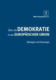 Abwege - Demokratie eV
