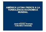 AM AMÉRICA RICA LATINA FRENTE A LA TURBULENCIA ECONÓMICA MUNDIAL
