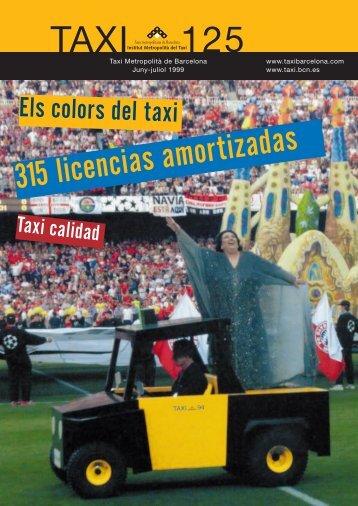 Revista Taxi nº125 PDF - Institut Metropolità del Taxi