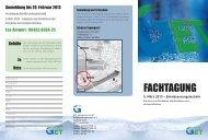 Anmeldung & Programm Entwässerungstechnik - GET ...