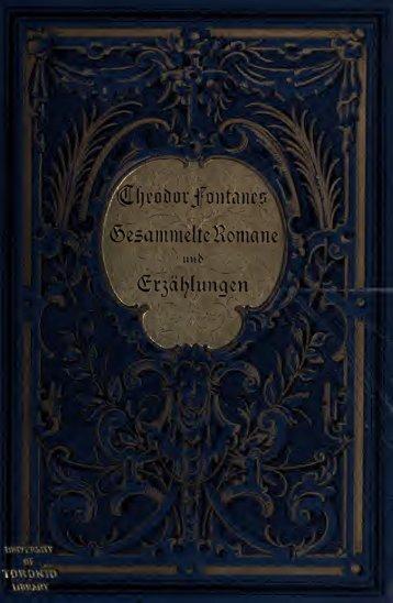 Gesammelte Romane und Novellen
