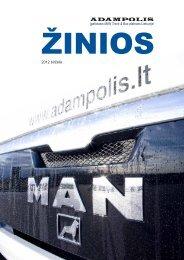 Įgaliotasis MAN Track & Bus atstovas Lietuvoje 2012 ... - Adampolis