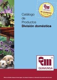 Catálogo de Productos División doméstica - Dixie