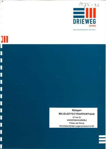 DRIEWEG - Commissie voor de milieueffectrapportage