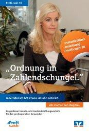 Installationsanleitung Profi cash 10 - Vereinigte Volksbank eG ...