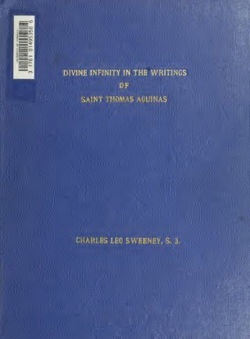 divine omnipotence thomas aquinas Handout 2: omnipotence - st thomas aquinas, summa theologica an argument against the thomistic account of omnipotence: divine.