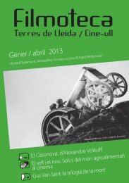 Filmoteca terres de Lleida/Cicle ull - Institut d'Estudis Ilerdencs