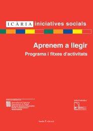 Aprenem a Llegir - Icaria Iniciatives Socials